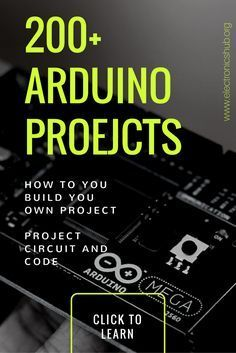 200+ Arduino Projects List For Final Year Students | Pinterest | Diy ...
