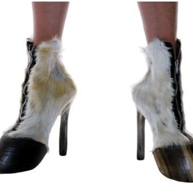 Horse shoes...