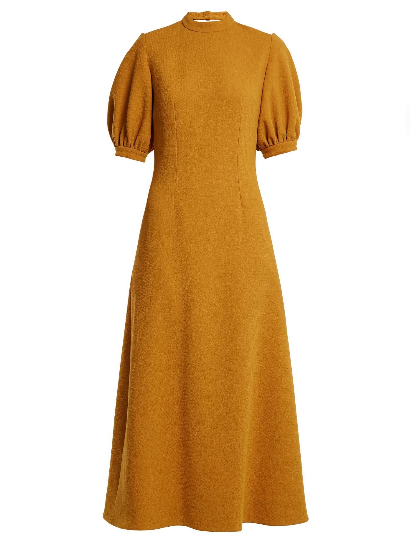 Elizabeth double-wool A-line midi dress Emilia Wickstead jsWCO09