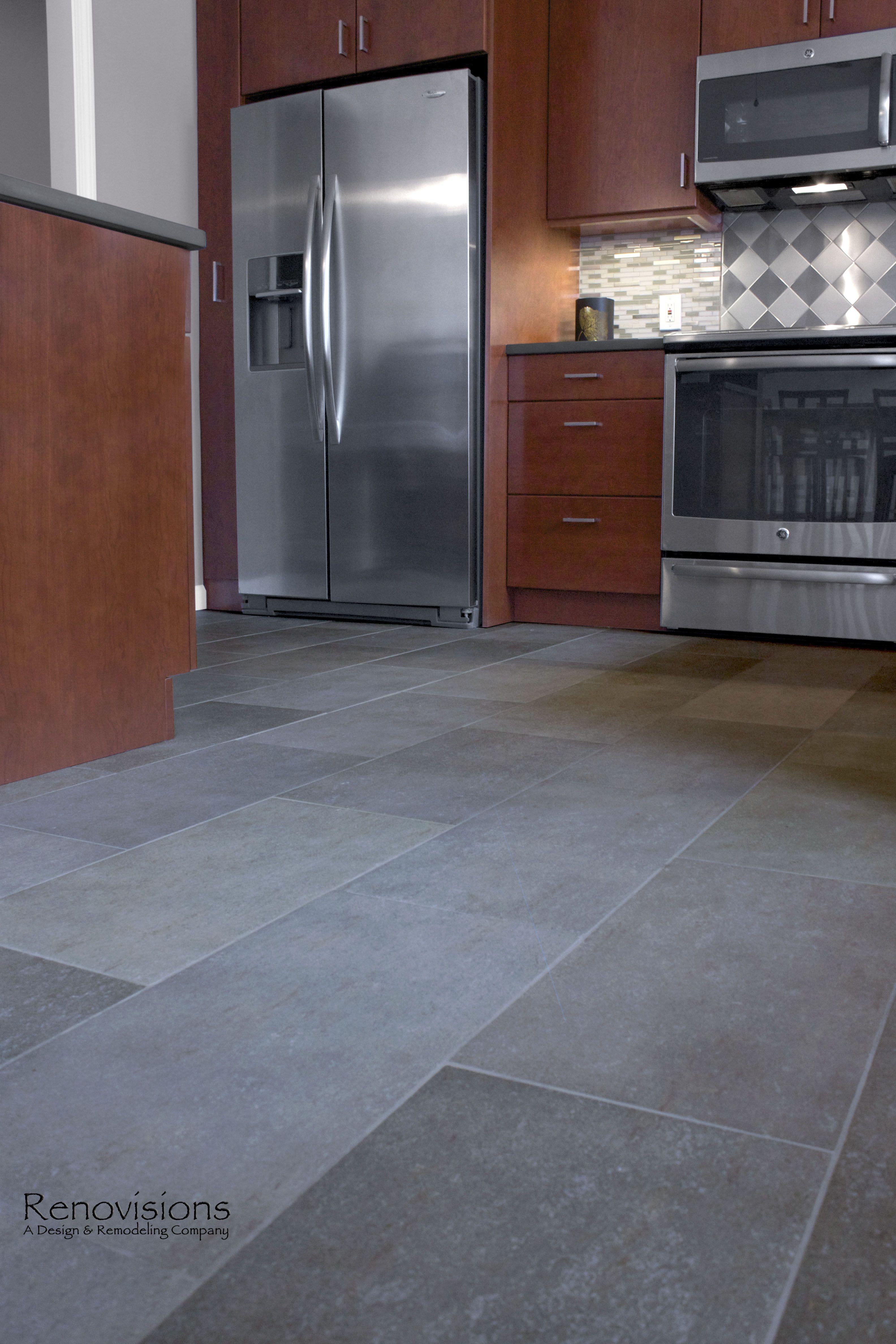 Steel Backsplash Kitchen Contemporary Kitchen Remodel By Renovisions Stainless Steel