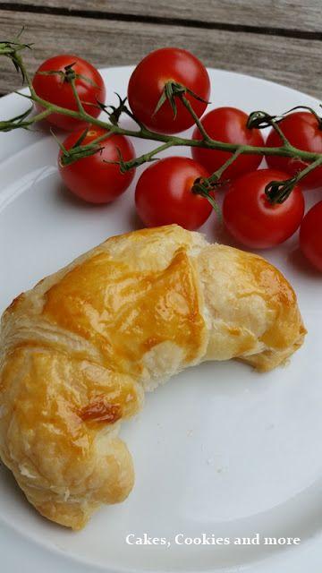 Schinkengipfel - Rezept Croissants mit Schinkenfüllung