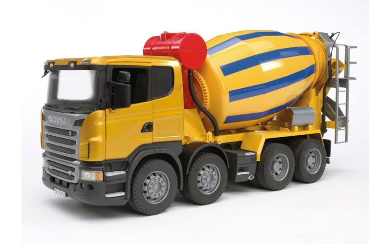 Camion Hormigonera Scania 68 95 Camiones Tractor Modelo A Escala
