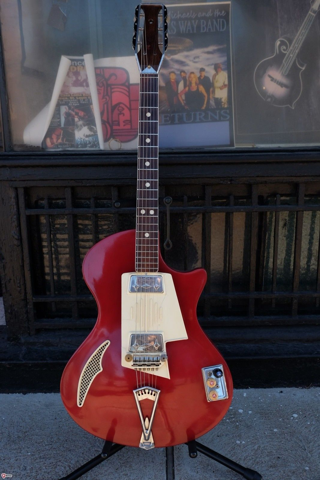 Wandre Tri-Lam 2 Pickup 1960s Red | Reverb