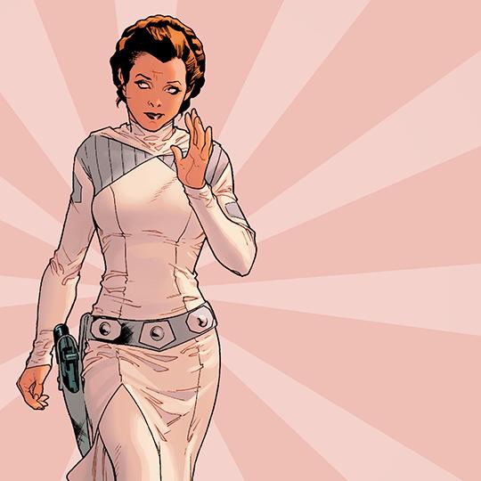 Leia Organa in Star Wars (comics)