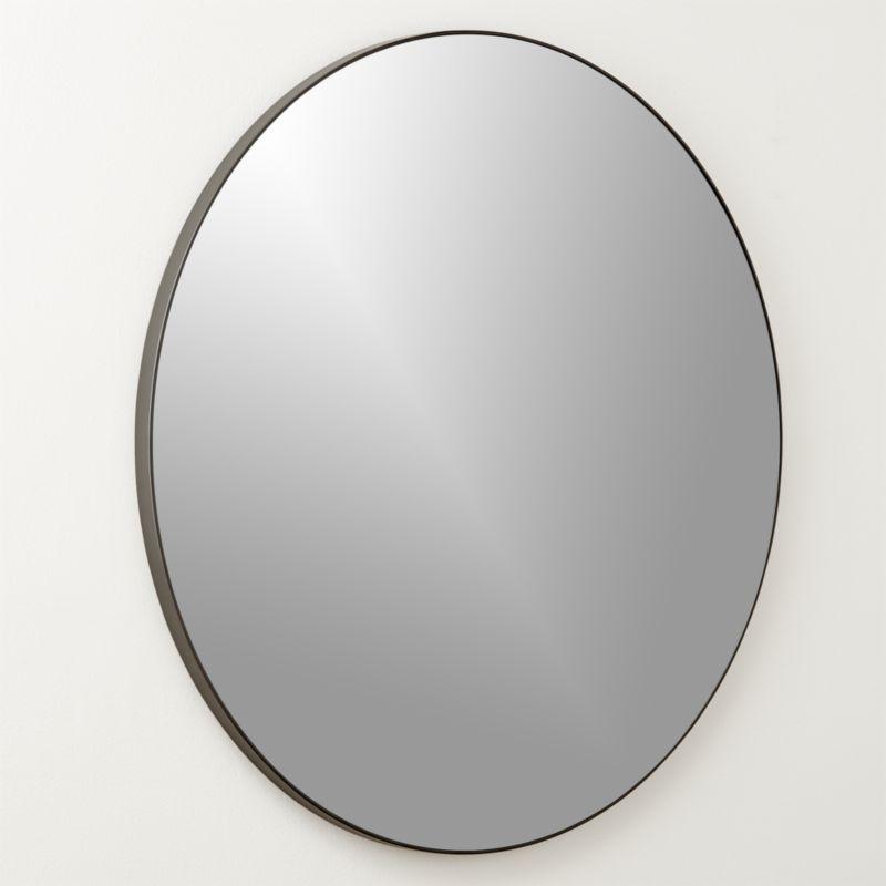 Infinity Black Round Wall Mirror 36 Round Wall Mirror Mirror Round Mirrors
