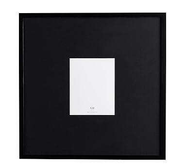 Wood Gallery Oversized Black Mat Frames | Frame, Wood, Black