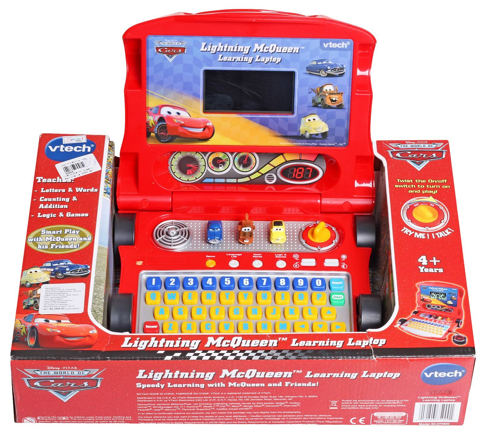 The learning laptop toy from Vtech