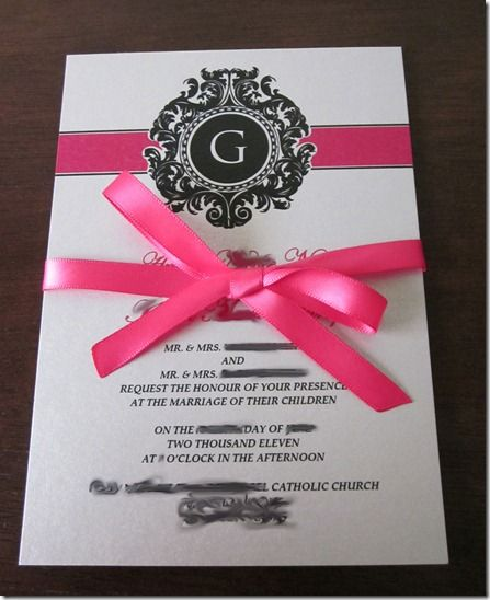 17 Best images about Wedding Invitations – Custom Wedding Invite