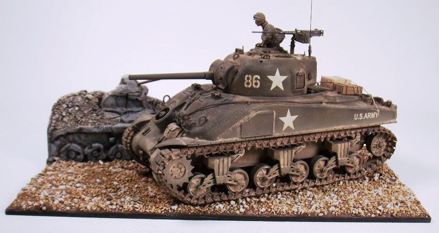 Pin by Ted Ladd on Awesome Scale Models | Sherman tank