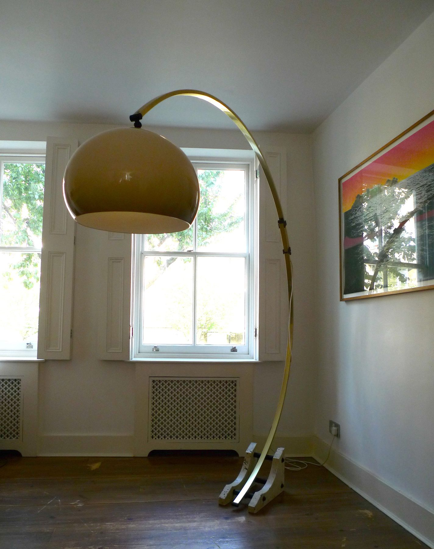 Retro Vintage Italian Arc Lamp Www Placecalledspace Com