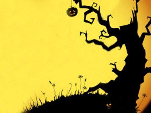 halloween backdrop crafthubs - Halloween Backdrop