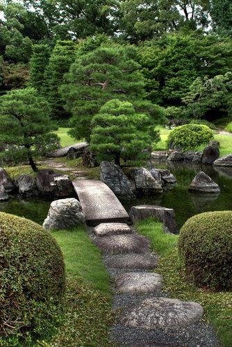 Garten, Gartengestaltung, japanischer Stil, japanisch, Pflanzen ...