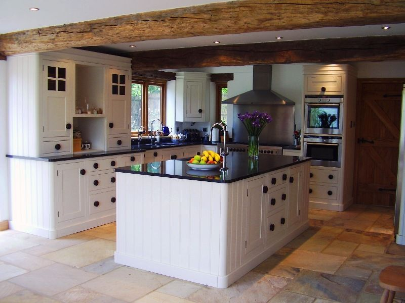 Low Beam Ceiling, Stone Floor   Country kitchen, English ...