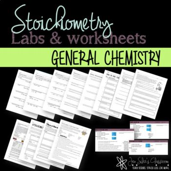 Stoichiometry Labs And Worksheets  Worksheets Labs And Chemistry