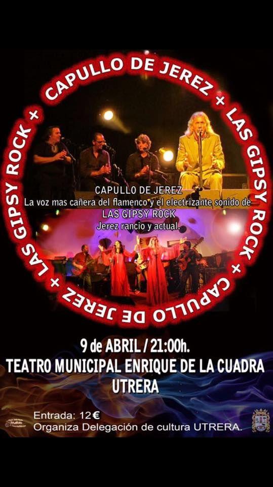 Actuación de Las Gipsy Rock y Capullo de Jerez. Para mas información, pulsa la foto.