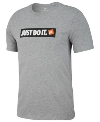 e18cb5b1d7 Nike Men's Just Do It T-Shirt - Gray S | Products in 2019 | Nike t ...