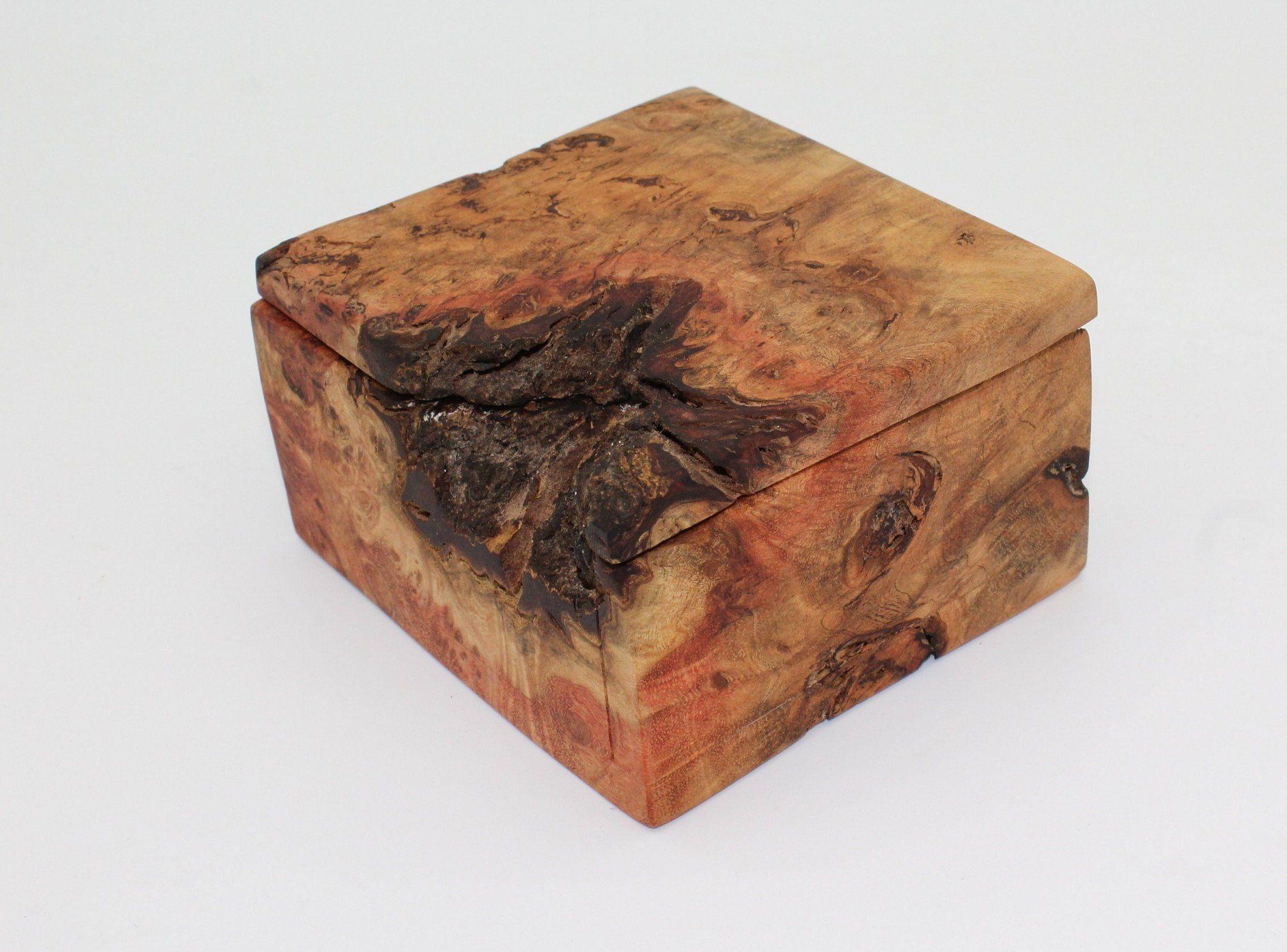 Buckeye Burl Lidded Box