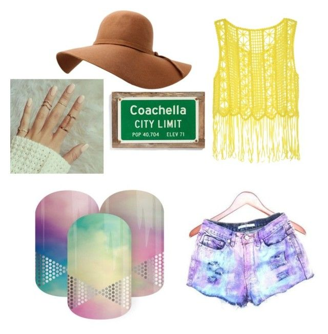 """festival season"" by tracy-hite on Polyvore featuring Poncho & Goldstein"