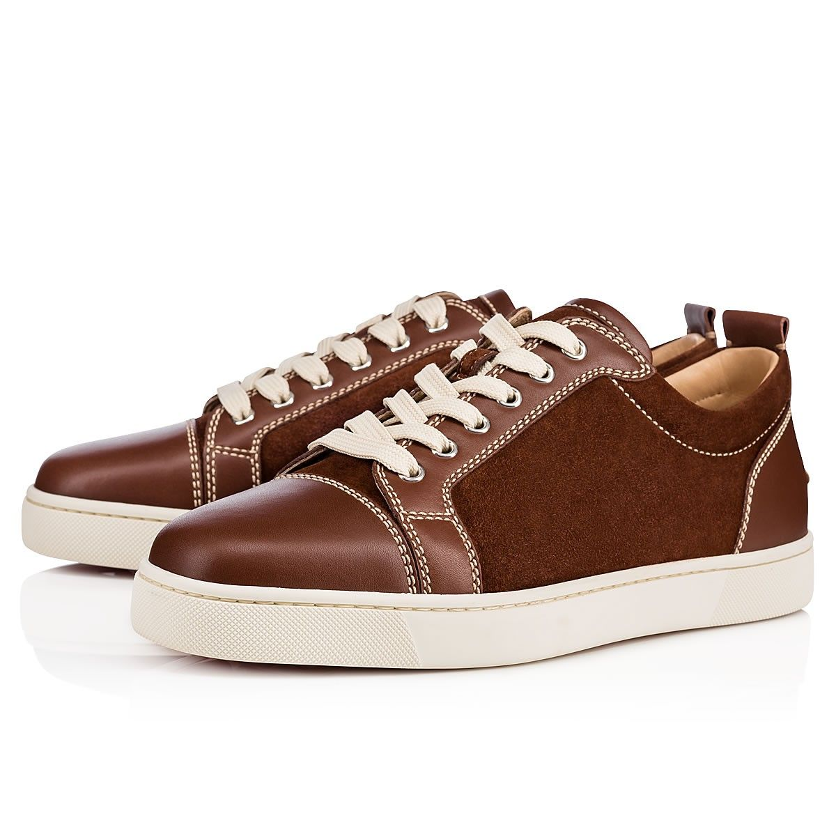 42807328b624 Christian Louboutin United States Official Online Boutique - Louis Junior  Men s Flat Pur Sang Leather available online. Discover more Men Shoes by  Christian ...