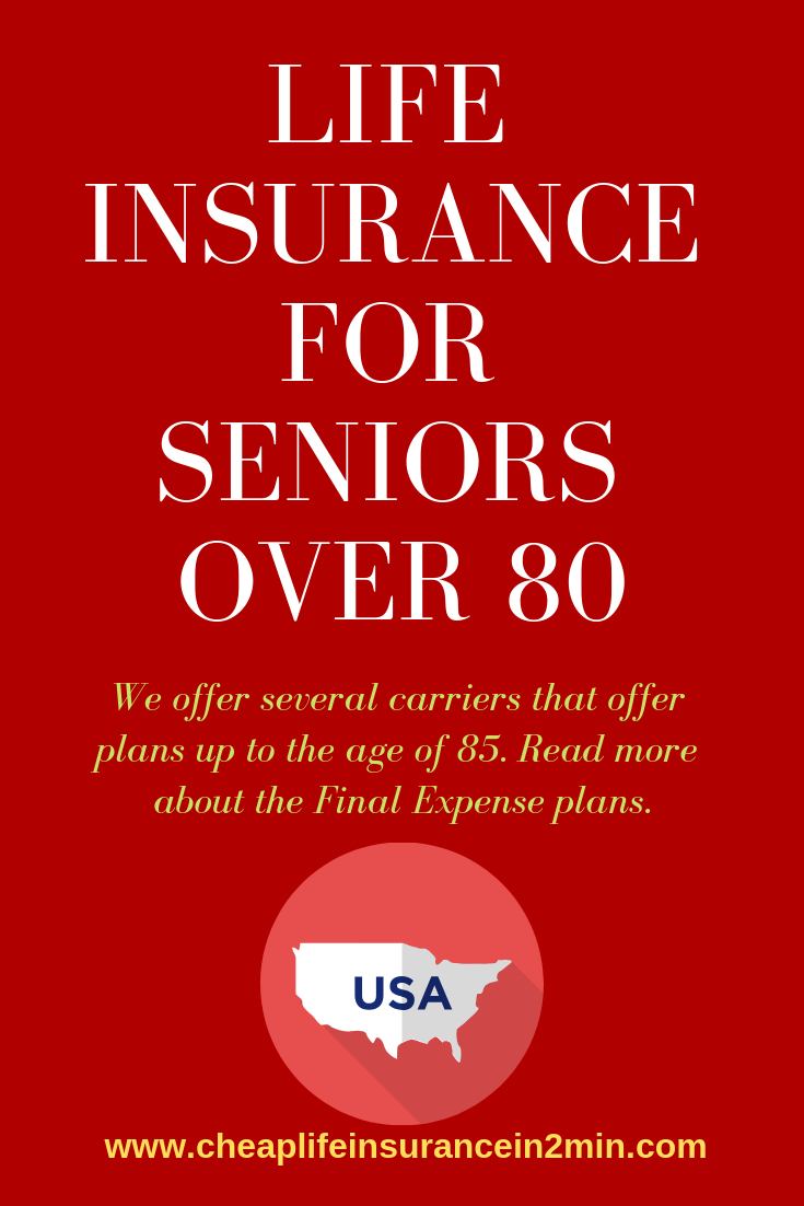 Life Insurance For Senior Citizens Over 80 Compare Price Here