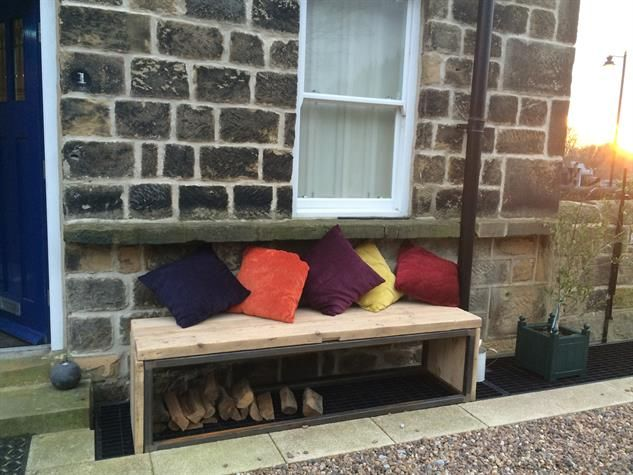 Surprising Reclaimed Wood Log Store Bench Seat Ideas For The House Camellatalisay Diy Chair Ideas Camellatalisaycom