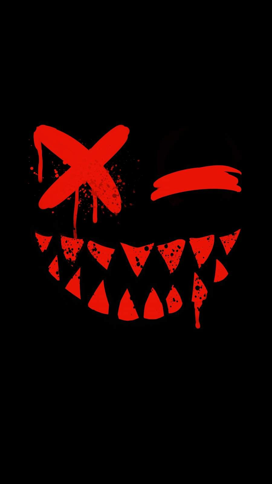 Evil Smile iPhone Wallpaper - iPhone Wallpapers