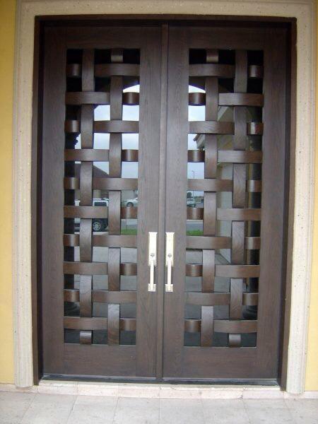 Tendencias en puertas de herreria 16 hogar exteriores for Puertas herreria exteriores