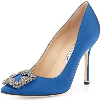 blue manolo blahnik sex and the city for sale in Norwich
