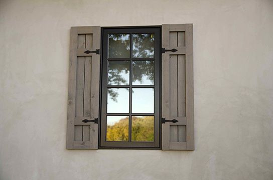 Exterior window pediments exterior window shutters bud for Exterior pediments