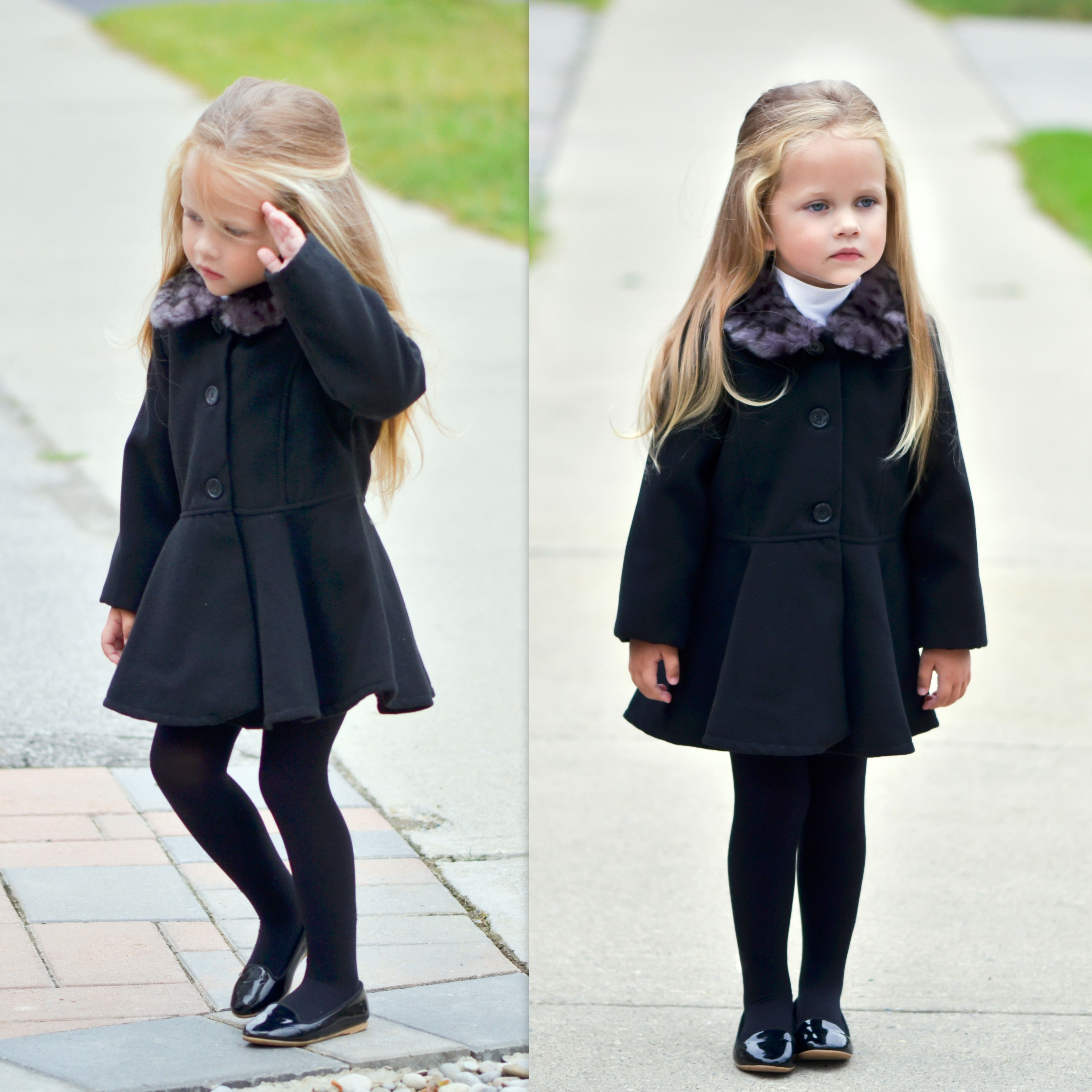 Miss Michelle in our Kardashian Kids coat | your fashionistas ...