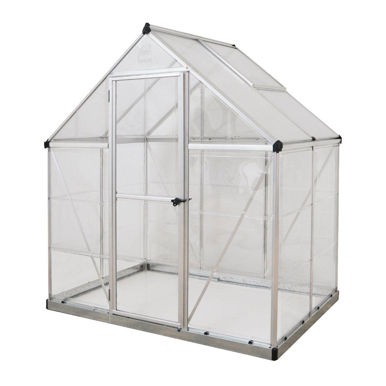 Amazon.com : Palram Nature Series Hybrid Hobby Greenhouse - 6 x 4 x ...