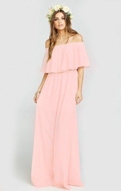 Hacienda Maxi Dress ~ Frosty Pink Crisp. Click the link to ...