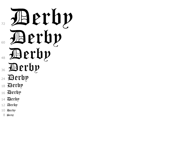 Monotype Old English Text™ - Fonts com | hcbc | Fonts, Old english