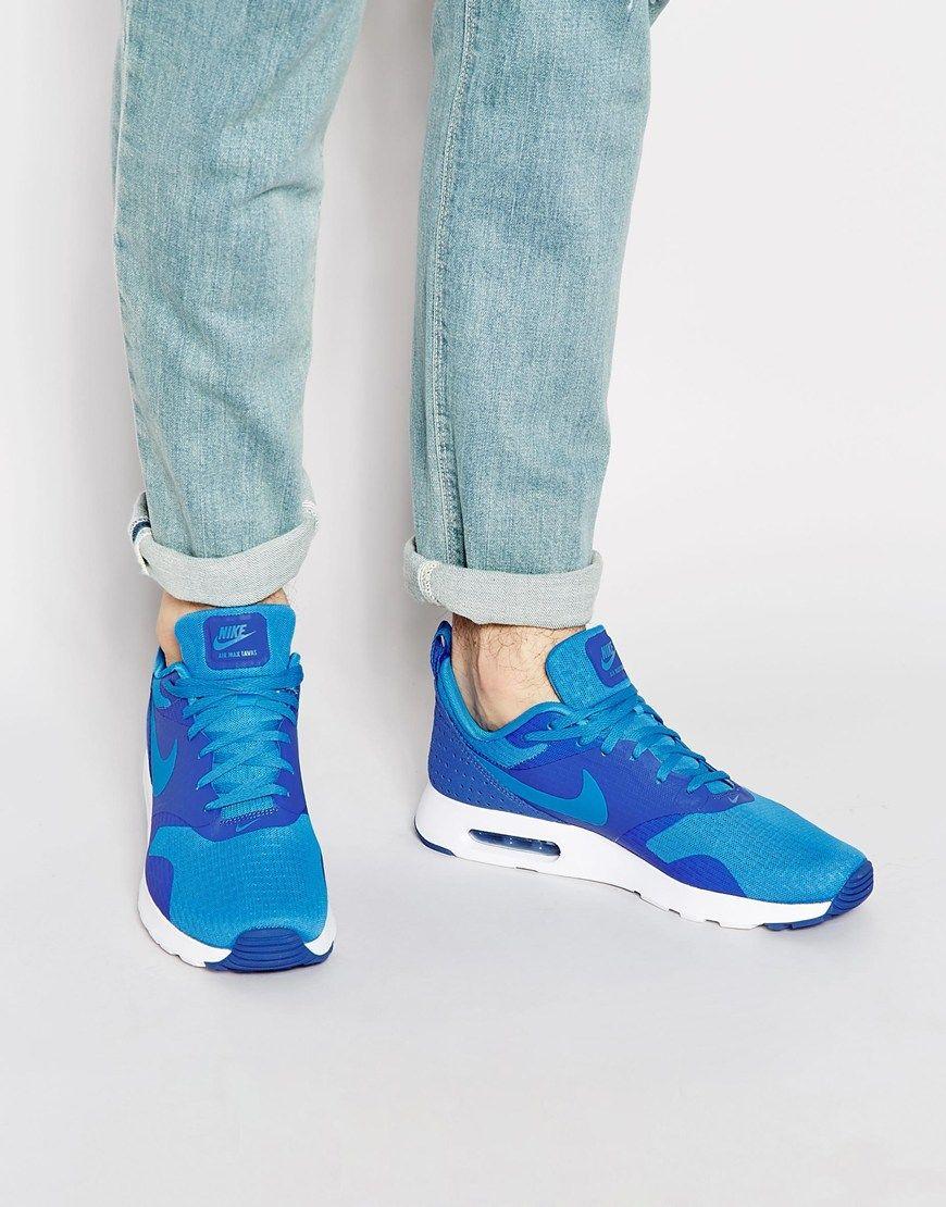 Nike Air Max Tavas: Blue   Sneakers to love   Nike shoes