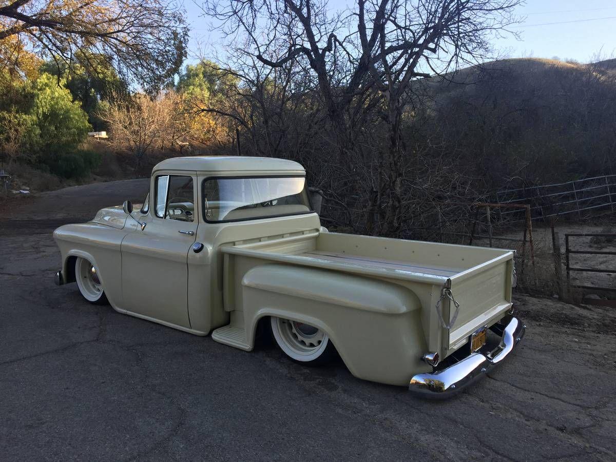 1955 56 Chevy Truck Big Window Cars Transportation Pinterest Old Tailgates 1963 Pickup Trucks Classic