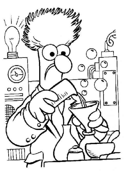 free muppet coloring pages - photo#33