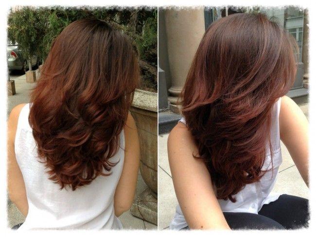 Kaki Chocolate Brown Hair
