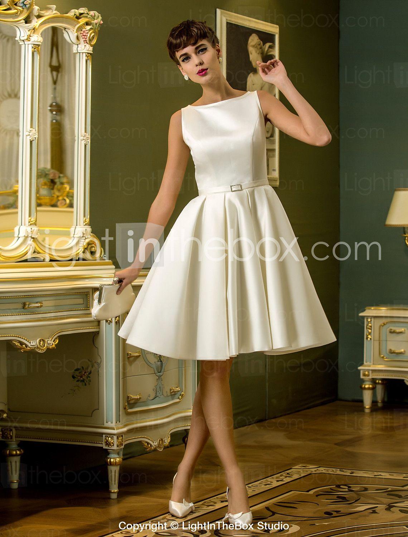 Aline wedding dress by Mary Sharon on Wedding Dresses