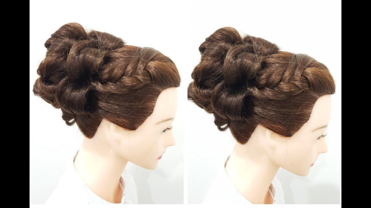 How To Make Amazing Hairstyle Step By Step Easy Juda Hairstyle For Par In 2020 Cool Hairstyles Hairstyle Hair Styles