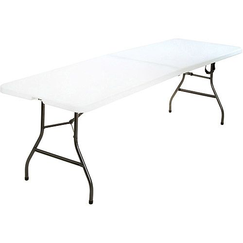 Walmart Mainstays 6 Centerfold Table Multiple Colors Folding