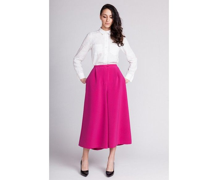 Named Mimosa Culottes Sewing Pattern UK Size 4 - 18 | projects ...