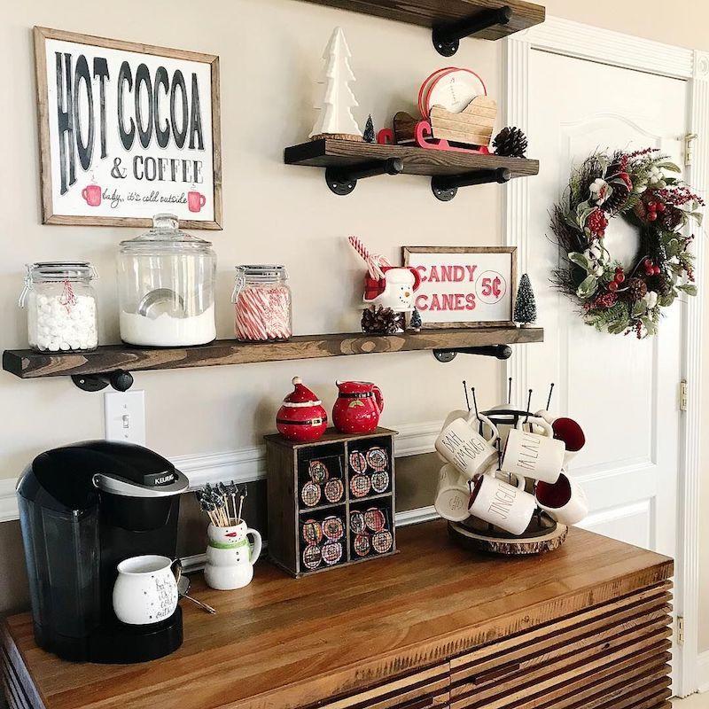 16 Best Hot Cocoa Bar Station Ideas Coffee Bar Home Hot Cocoa Bar Home Coffee Stations