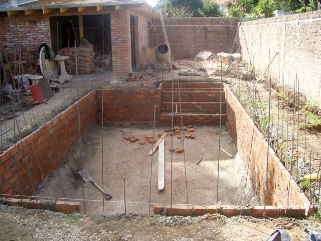 Construcci n de piscina grhs piscinas construcci n de for Construccion de piscinas climatizadas