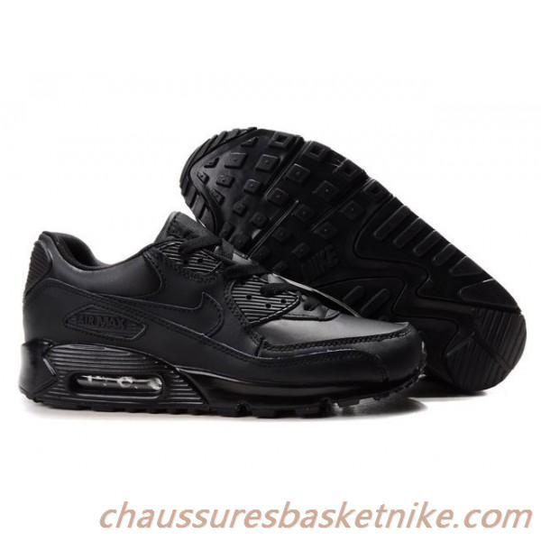 air max cuir noir
