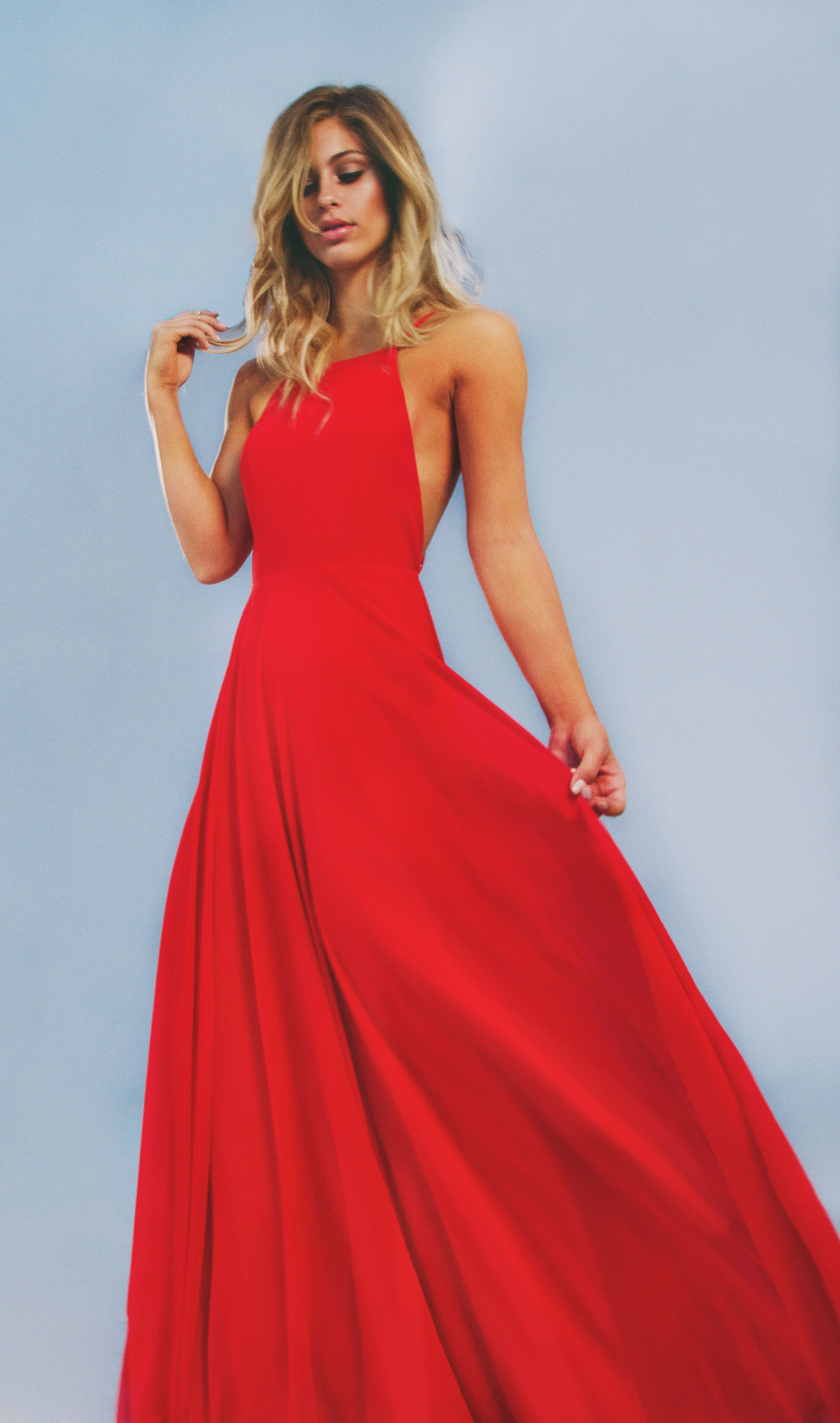 Poppy red fashionuaccessories pinterest poppy red maxi