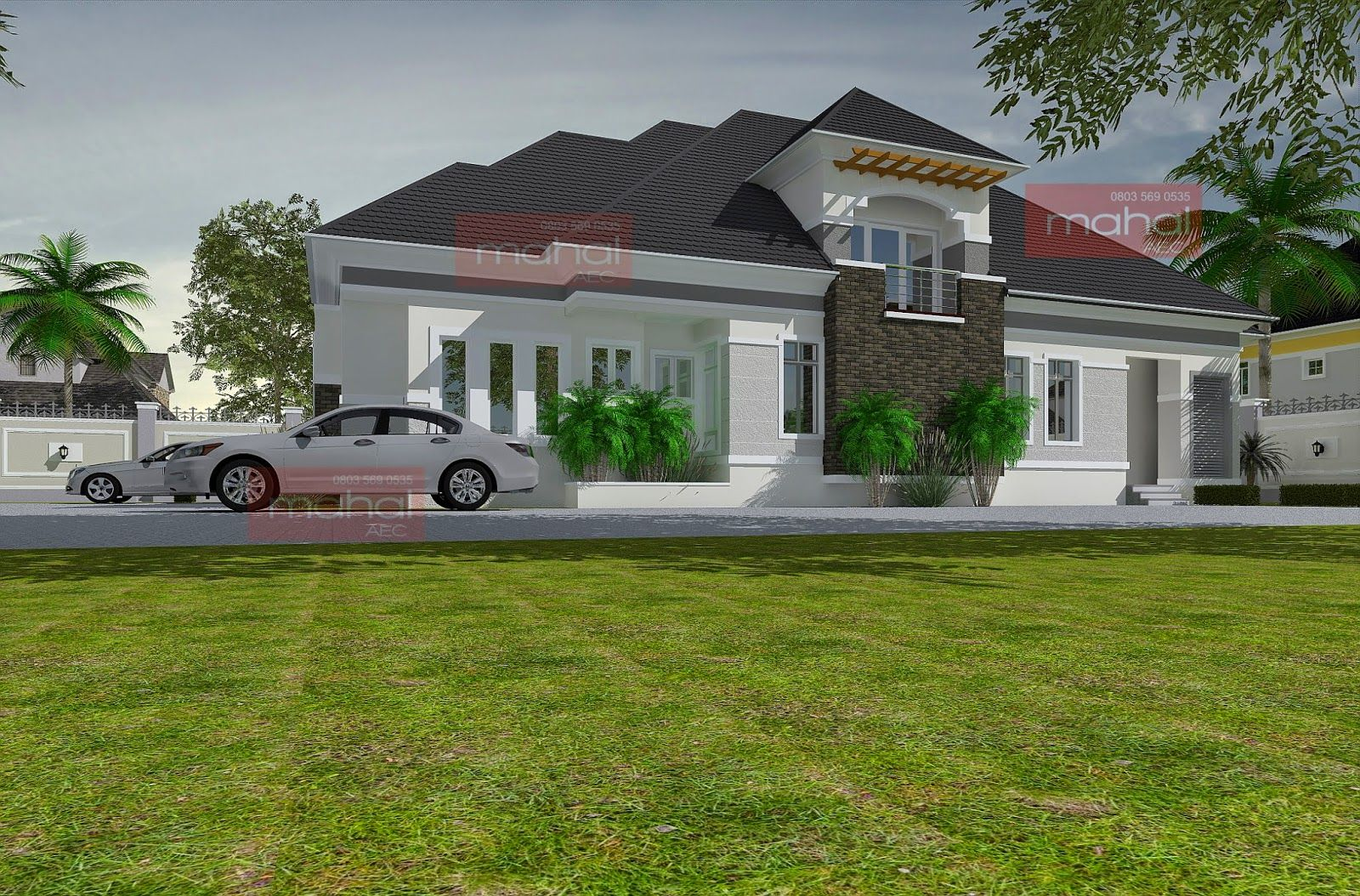 Contemporary Nigerian Residential Architecture Caoimhe