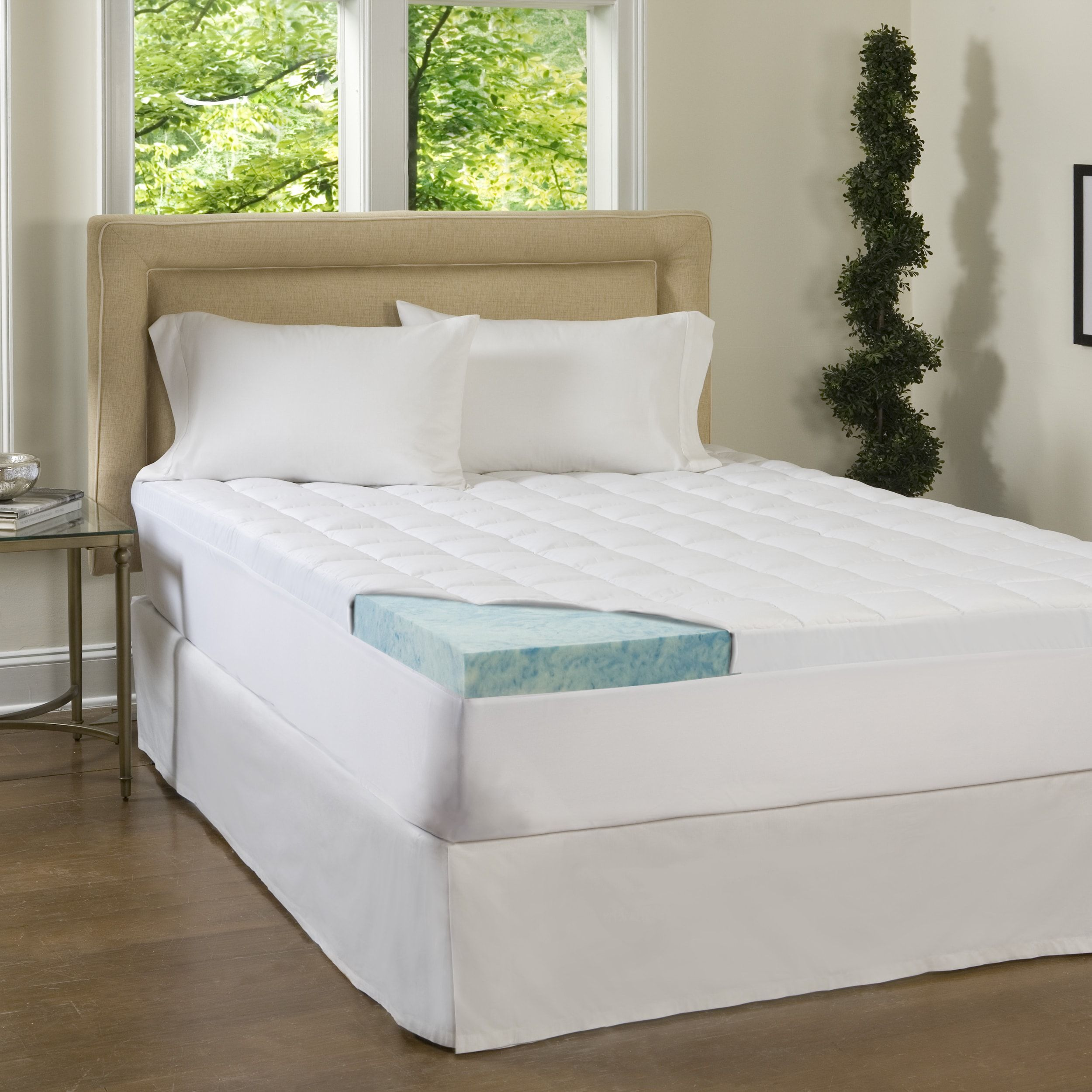 Beautyrest 4inch Supreme Gel Memory Foam and 1.5inch