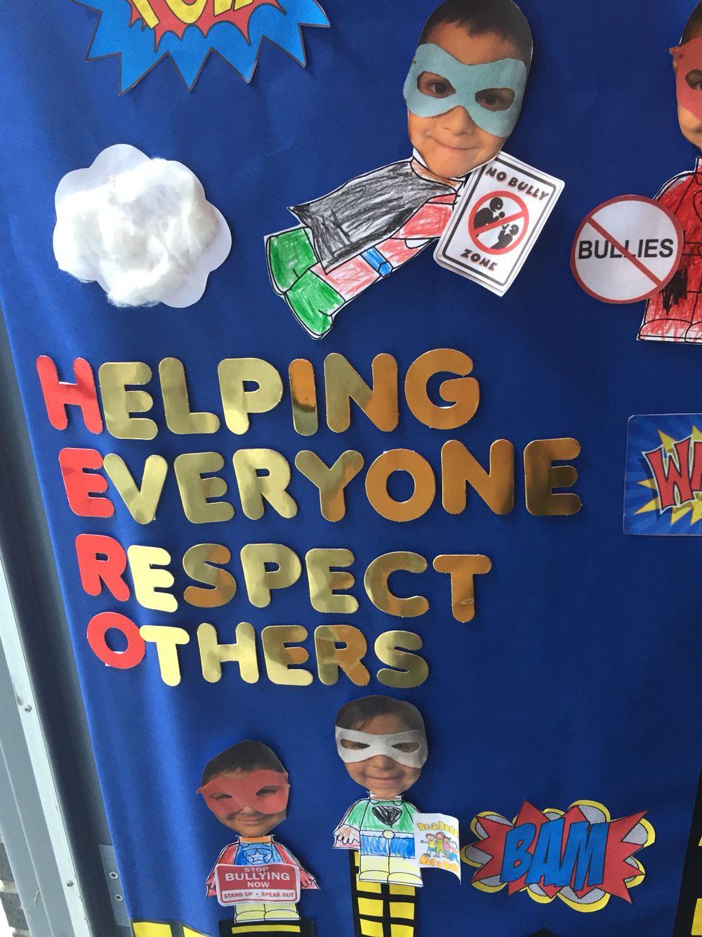 Anti Bullying Door Decoration | Anti Bullying | Pinterest ...