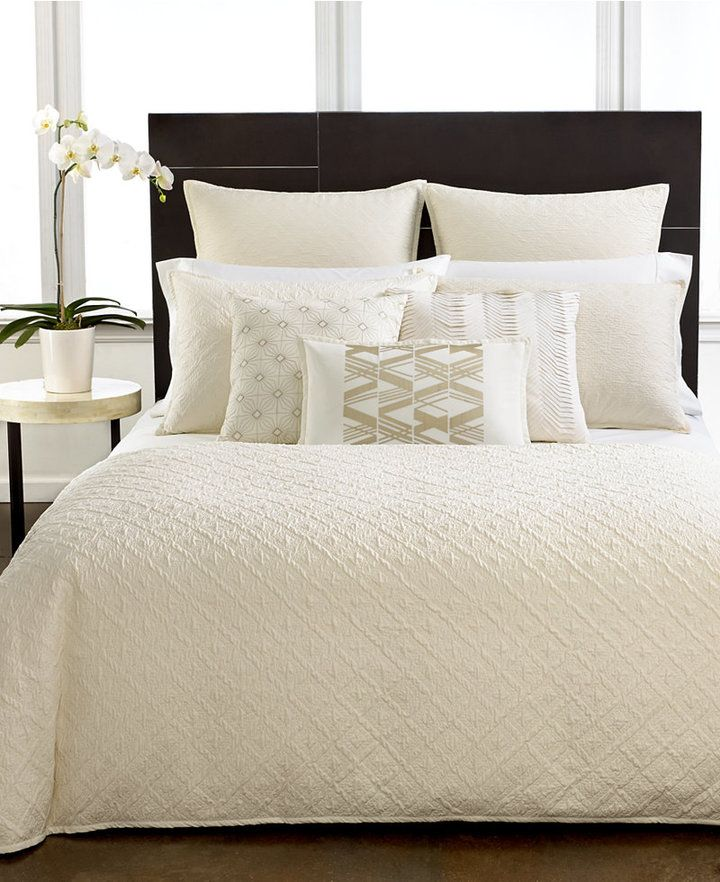 Hotel Collection, Stitched Diamond Twin Duvet Cover home