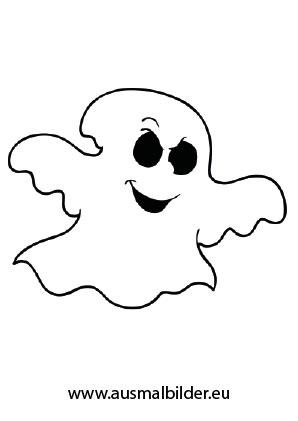 Ausmalbild Halloween Komisches Gespenst Halloween Ausmalbilder Ausmalbilder Halloween Geist